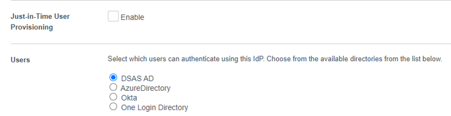 Select the directory