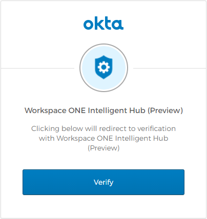 Workspace ONE Intelligent Hub (Preview)