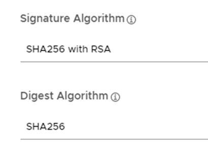 Signature Algorithm