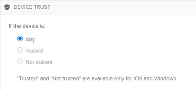 Device Trust